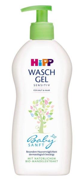 Hipp Бебешки душ гел за коса и тяло 400ml. 9530